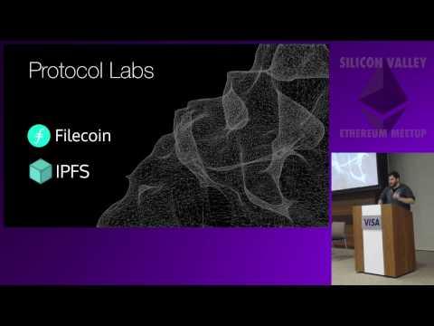 The Decentralized Web, IPFS and Filecoin - Juan Benet