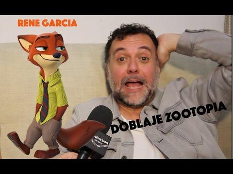 Ver Doblaje Zootopia Rene García en Español