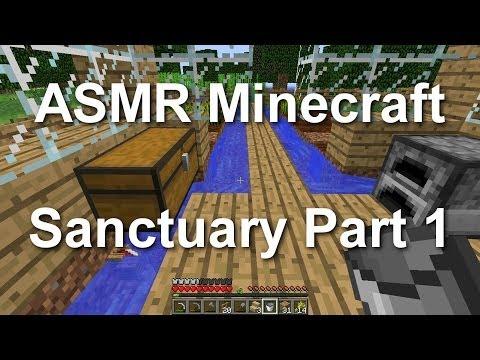 ASMR Minecraft - Sanctuary Part 1