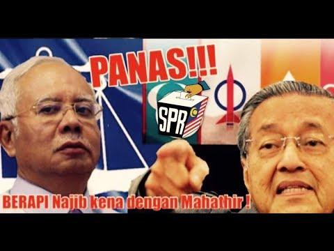 PANAS! BERAPI Najib kena dengan Tun Mahathir! DEDAK Perompak Bugis! Youtube