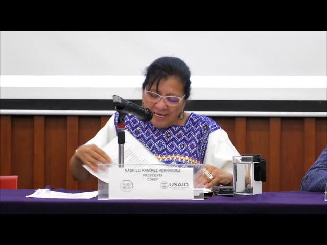 Discurso de la Presidenta de la CDHDF en Presentación de Documental