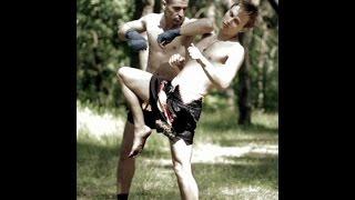 Муай Тай Обучение - Жесткая контратака от колена