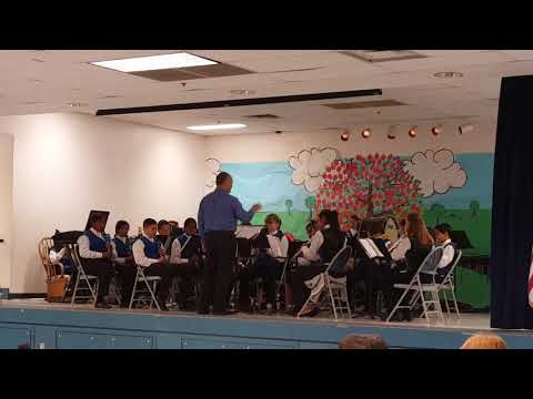 South bay union school district music program playing at Pence Elementary school--- 5.11.18