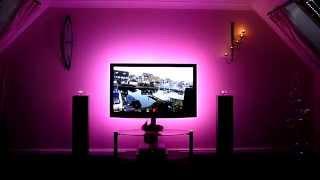 Подсветка с применением светодиодной ленты RGB(Сайт: http://onyks.com.ua Группа вконтакте: http://vk.com/club54082195 Светодиодная лента - это универсальный и экономичный..., 2013-08-05T11:27:03.000Z)
