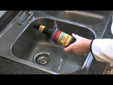 Cut glass bottle in half youtube for How do i cut glass bottles