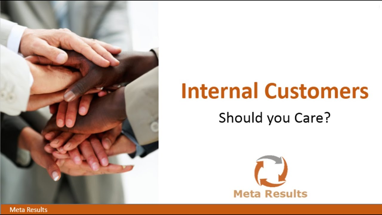 who are the internal customers The concept of internal customer service may be just as important, if not even more so, than general customer service so much of what drives the customer experience is what is happening on the inside of an organization it's the company's culture that creates and ultimately defines the.