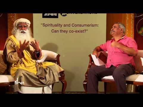 IAA Conversations With Piyush Pandey & Sadguru - Spirituality & Consumerism: Can They Co-exist