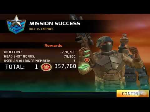 Kill Shot Bravo BLOOD SHOT Region 31 Primary Mission 21-30 Gameplay
