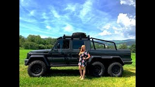 Mercedes-Benz G-Class 6X6 Review from Austria w/MaryAnn for sale by: AutoHaus of Naples