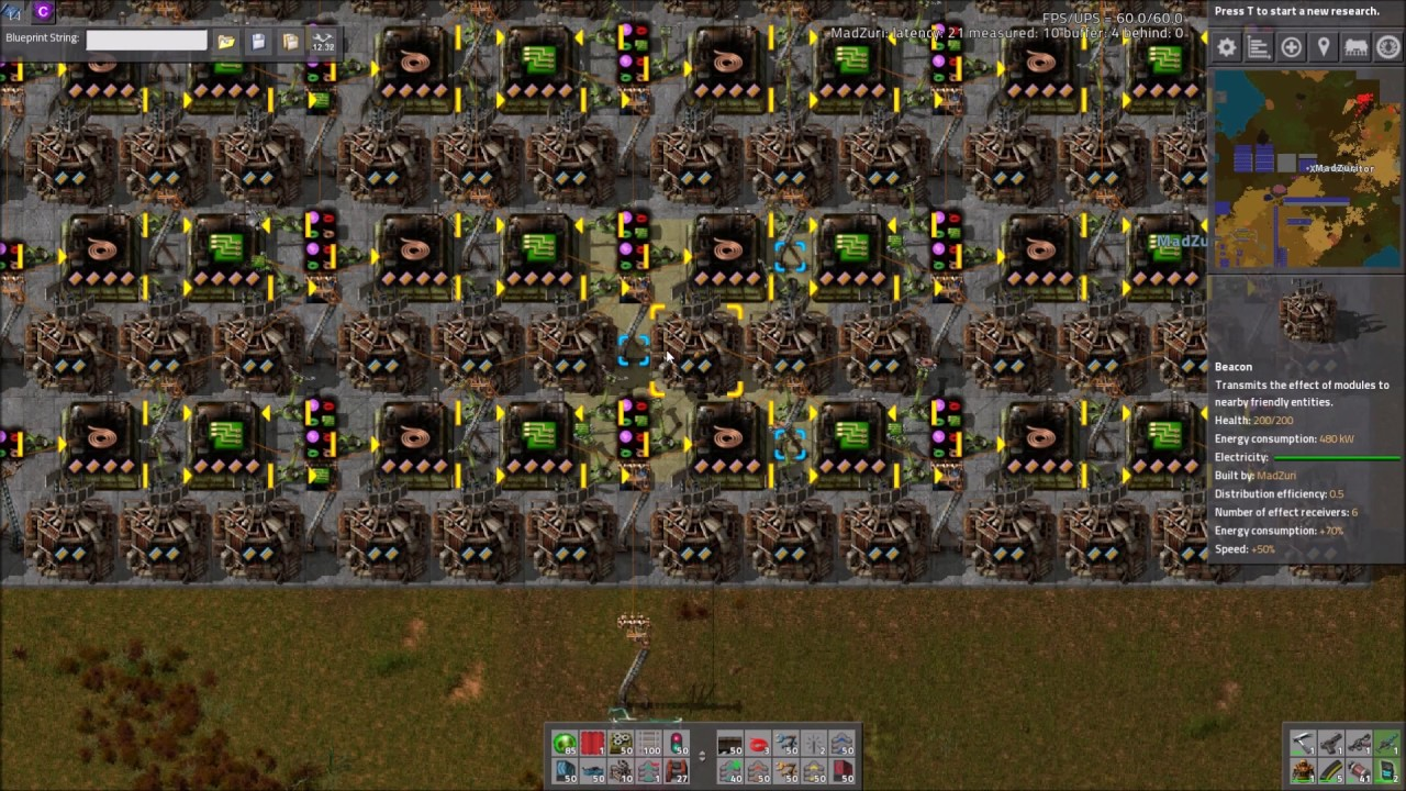 Factorio Workshop   Building A Better Factory :: Power / Space Calculations