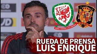 Gales-España | Rueda de prensa previa de Luis Enrique | Diario AS