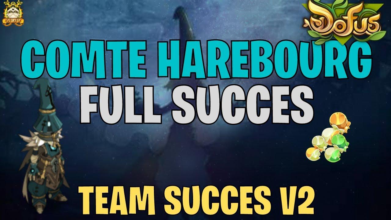 [DOFUS] TEAM SUCCES V2 - COMTE HAREBOURG FULL SUCCES