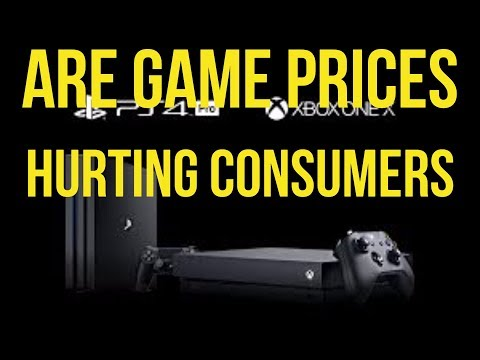 Are Video Game Prices Hurting Consumers?