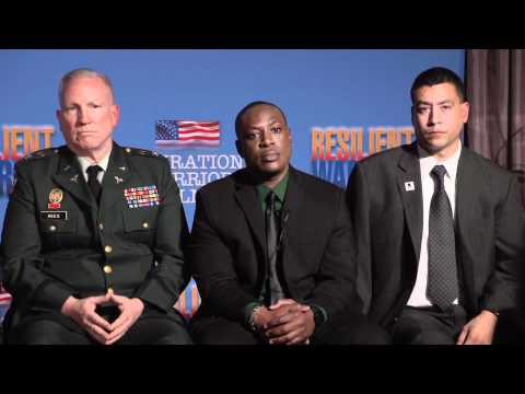 Operation Warrior Wellness press conference - Los Angeles launch, Dec 2011