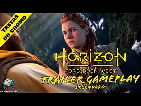 Horizon Forbidden West: Primeiro trailer de Gameplay na PS5 (Legendado)