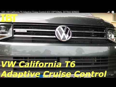 V41- VW California T6 Adaptive Cruise Control ACC (OPTIONAL EXTRAS SERIES)