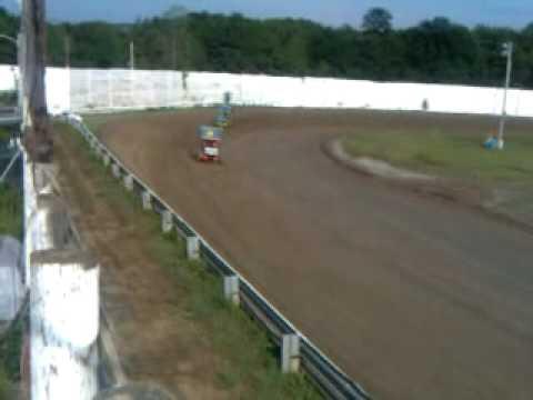 Whip City Speedway 750 Sportsman Practice 7/24/10