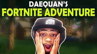 DAEQUAN'S FORTNITE ADVENTURE...