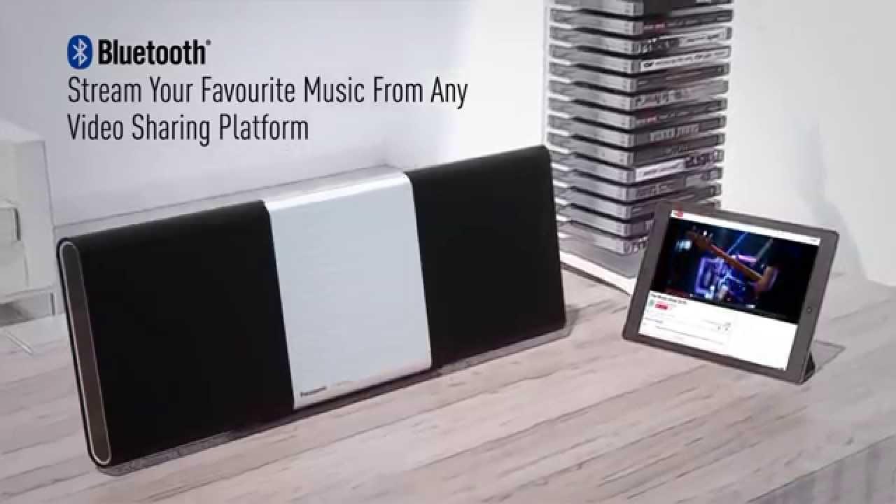Højmoderne Panasonic ALL5CD - Multiroom-system med CD, Bluetooth och DAB HT-67
