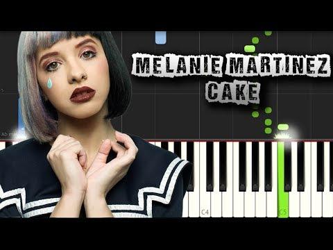 Melanie Martinez - Cake - Piano Tutorial Synthesia (Download MIDI + PDF Scores)
