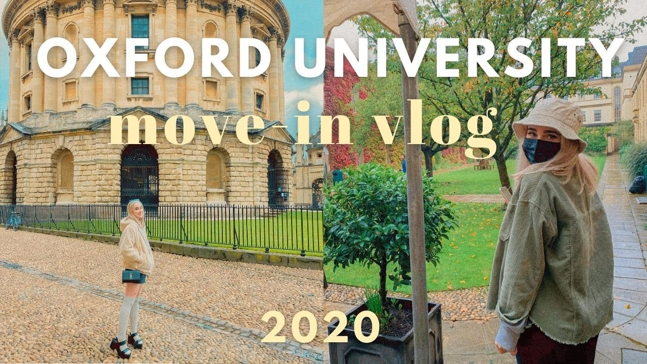 UNIVERSITY OF OXFORD move-in vlog !! 2020