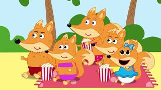 Fox Family and Friends new funny cartoon for kids full episode #682