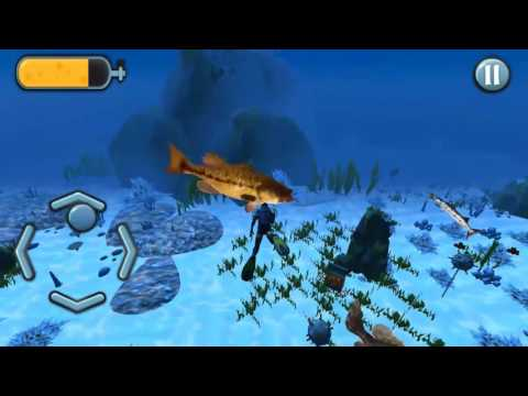 Let's Catch Fish: Scuba Underwater Spearfishing - IOS & Android Video Game! FREE