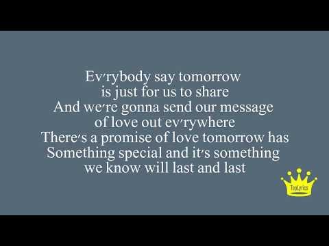 Quincy Jones ft. Tevin Campbell - Tomorrow Lyrics