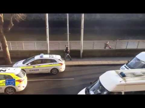High speed police chase in Dublin City