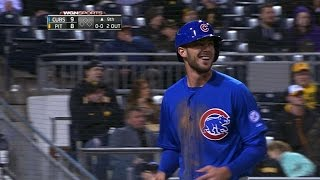 CHC@PIT: Cubs push across three in 9th to stun Bucs