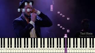 Org ve Piyano Dersleri - Geç Olmadan ( Murat Boz )  - Taci Hoca : 0543 232 91 22 Video