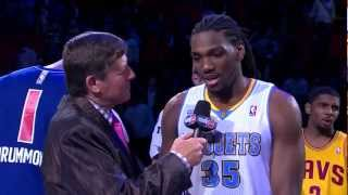 Kenneth Faried 40 Points @ 2013 BBVA Rising Stars Challenge (Full Highlights)