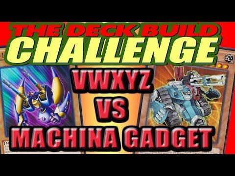 VWXYZ Vs. MACHINA GADGET - The Deck Build Challenge w/ DasChillyOne Vs. Duke Freeman