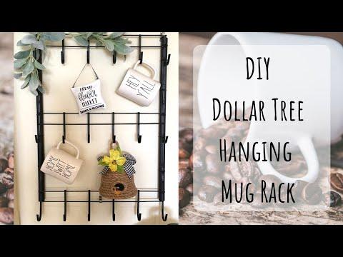 DIY Dollar Tree Mug Rack