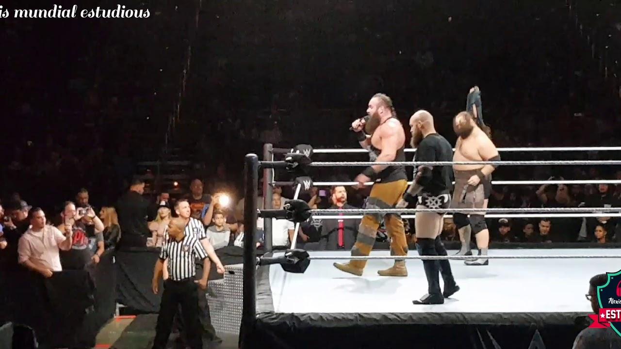 Strowman vs. AJ Style ( WWE Live Puerto Rico 26 Octubre del 2019)
