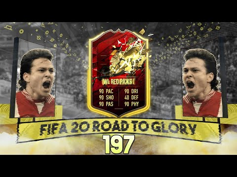 MY WL RED PICKS !! FIFA 20 RTG 197