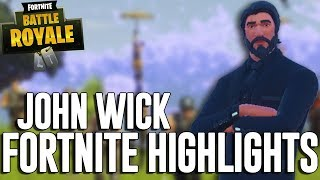 John Wick! - Fortnite Battle Royale Highlights - Ninja