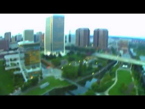 Drone Video at Brown's Island Downtown Richmond, Virginia