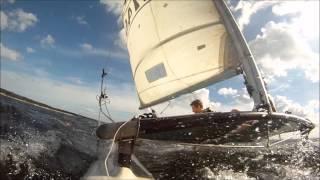 Catamaran crash 23.08.2012 ᴴᴰ