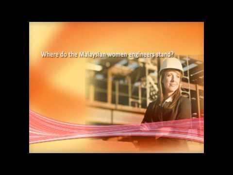 """""""Women engineer in Malaysia"""""""