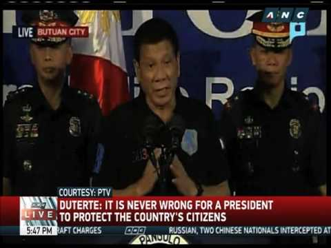 Duterte to human rights groups: Go to hell