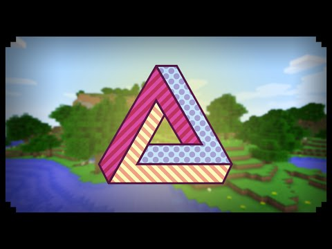 ✔ Minecraft: How to make an Impossible Triangle