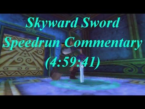 [Post Commentary] Skyward Sword Any% Speedrun in 4:59:41