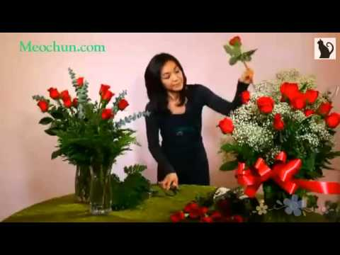 cách căm hoa tươi