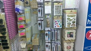 New Craft section at Dollartree 💜 September 2019