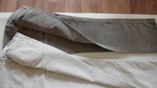 видео Вельветовые джинсы женские