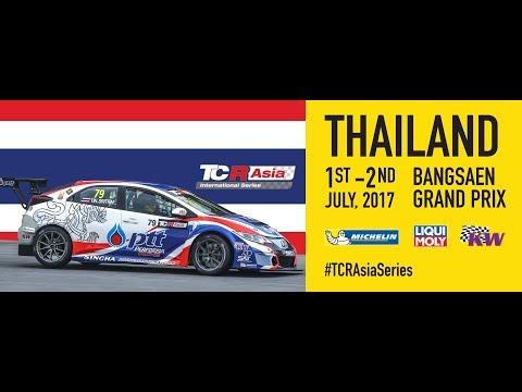 TCR Asia Series Round 7, Bangsaen, Thailand 2017