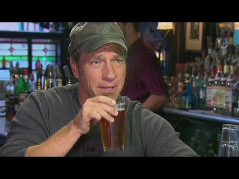 """Dirty Jobs' host talks about ""How Booze Built America"""