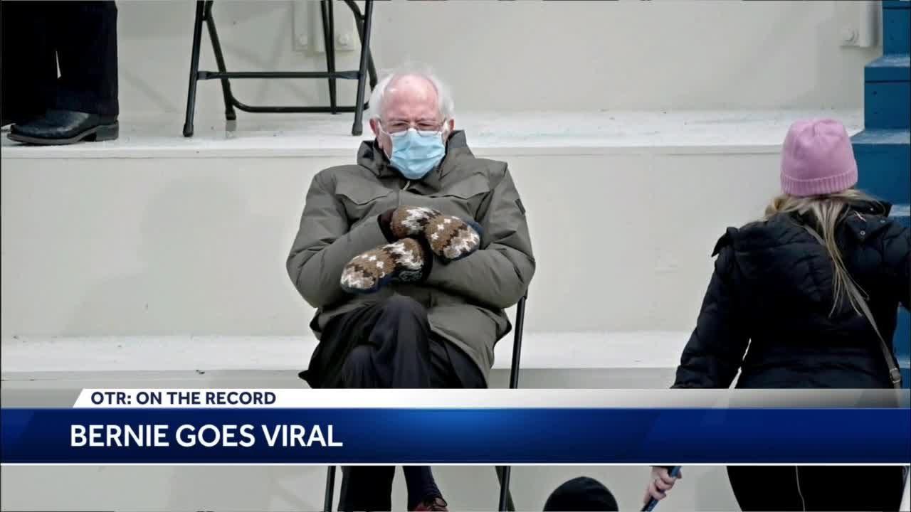 Otr Reaction To Meme Worthy Bernie Sanders Inauguration Day Photo Youtube