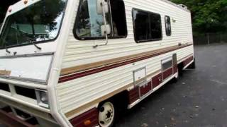 Walk around of 1981 Fleetwood Southwind 27